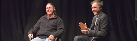 A discussion between  Tim Winton & William Fiennes
