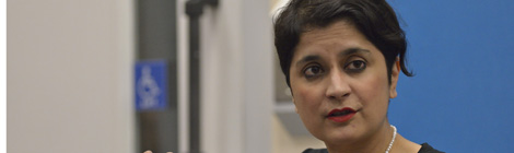 Shami Chakrabarti on Poetry and Human Rights