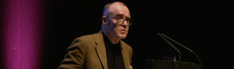 Ciaran Carson reading at Newcastle Poetry Festival 2018