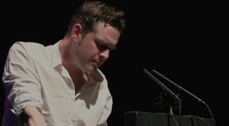 Luke Kennard reading at Newcastle Poetry Festival 2018