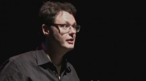 Ilya Kaminsky reading at Newcastle Poetry Festival 2018