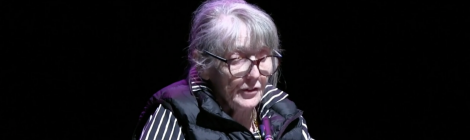 Fanny Howe reading at Newcastle Poetry Festival 2018