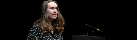 Susannah Dickey Newcastle Poetry Festival 2019