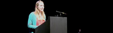 Phoebe Power Newcastle Poetry Festival 2019
