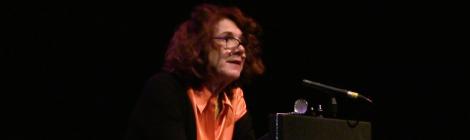 Mary Ruefle Newcastle Poetry Festival 2019