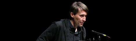 Aleš Šteger Newcastle Poetry Festival 2019
